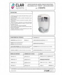 Dozatoare de sapun din ABS - Dozator de sapun lichid, alb - 800 ml - arli.ro