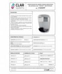 Dozatoare de sapun din ABS - Dozator de sapun lichid, cromat - 800 ml - arli.ro