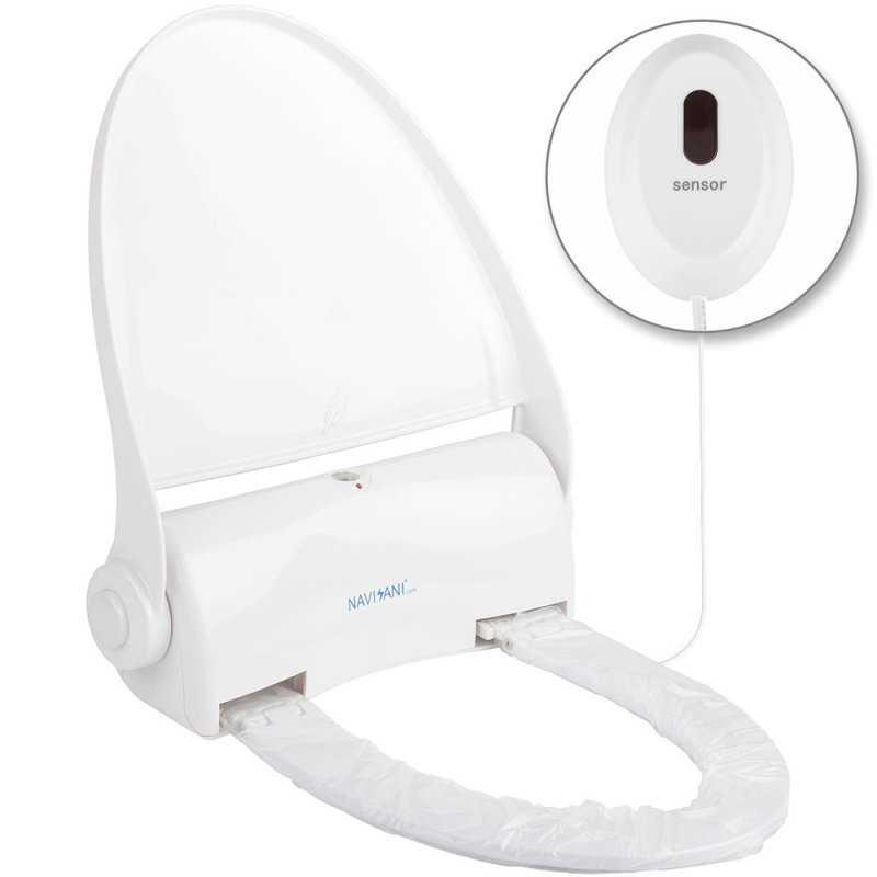 Colac WC automat cu buton si senzor - Arli Co