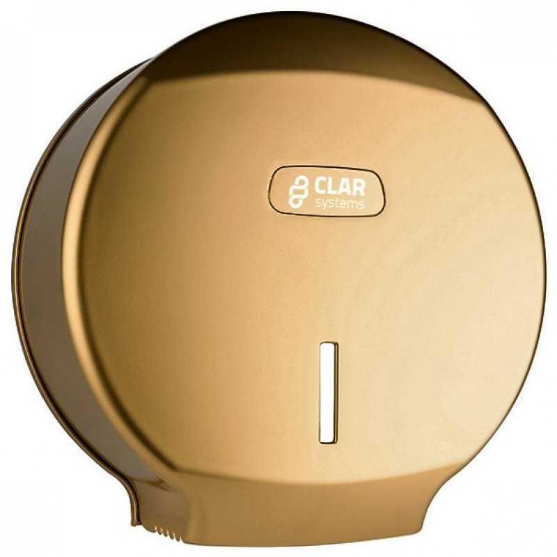 Dispenser hartie igienica Jumbo, gold - Arli Co