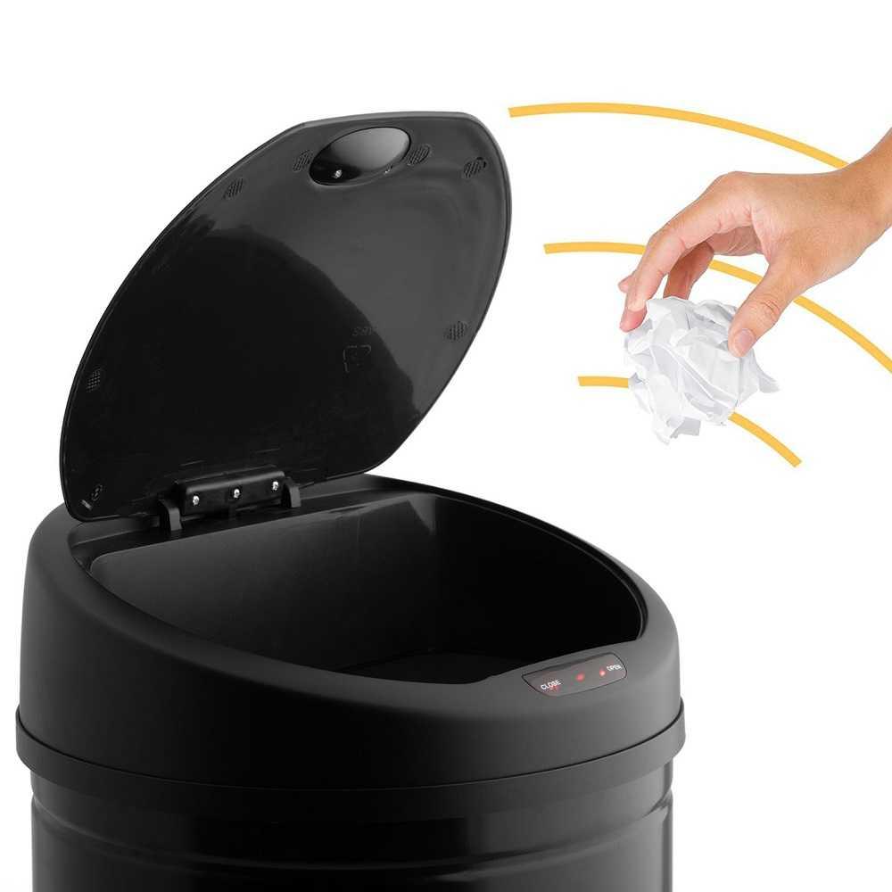 Cos de gunoi din metal, cu senzor - Arli Co