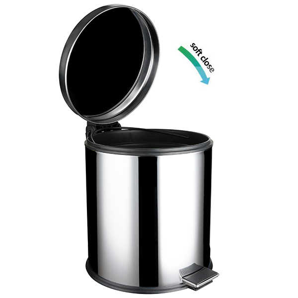 Cos de gunoi din inox cu SOFT CLOSE - Arli Co